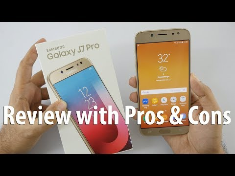 Samsung Galaxy J7 Pro Review with Pros & Cons - A Pro Smartphone?