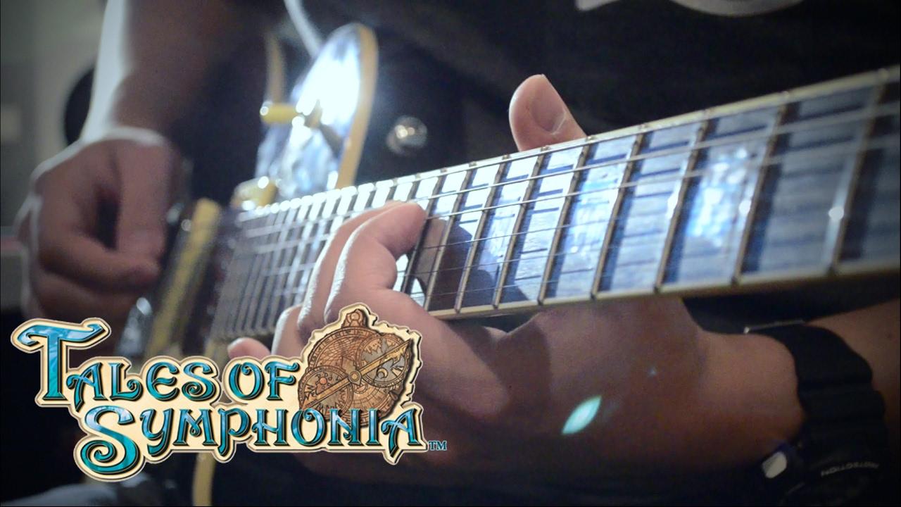 Tales of Symphonia: Battle Suite Guitar Cover