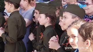 Танцы, песни и добрые пожелания от первых лиц города   Сразу несколько дворов Каспийска отметили Ден