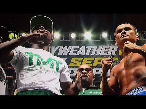 "SHOWTIME MAYWEATHER VS MAIDANA 2 WEIGH IN RESULTS 9/12/14! WHAT ""IF"" MAYWEATHER LOSES? JUST WHAT IF?"