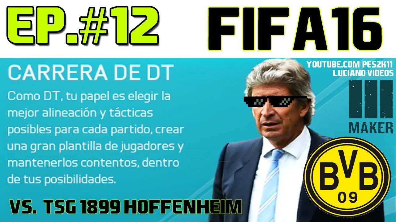 Download FIFA16 - Carrera DT Borussia Dortmund Ep.#12 vs. TSG 1899 Hoffenheim