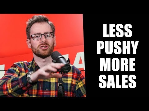 Stop Being PUSHY To Close More Sales With Deb Calvert