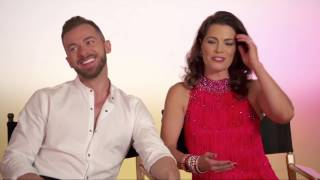 Nancy Kerrigan & Artem Chigvintsev - First Interview