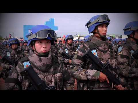 Service and Sacrifice: Chinese Peacekeepers