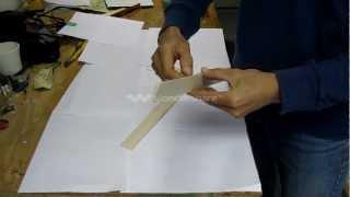 How To Make A Balsa Wood Boomerang - Part 1 Of 2