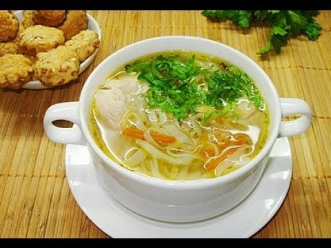 рецепт куриного супа с лапшой и картошкой