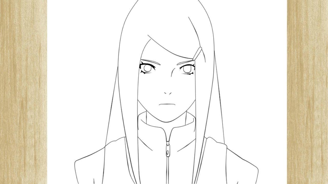 How To Draw Kushina Uzumaki From Naruto Shippuden Como Desenhar
