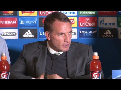 Celtic 0-5 Paris St-Germain - Brendan Rodgers Full Post Match Press Conference - Champions League