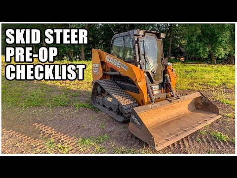 How To Do A Skid Steer Pre-Operation Inspection