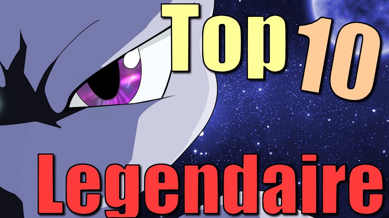 Top 10 pok mon l gendaires youtube - Pokemon y pokemon legendaire ...
