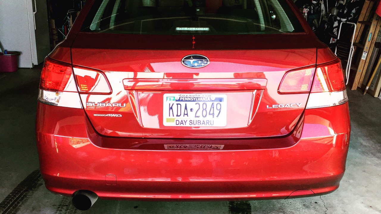 2017 Subaru Legacy Nameless Ler Delete With Review
