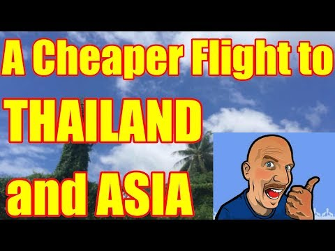 Tips on booking flights to Thailand and Asia V305