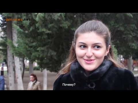 Why do Azerbaijanis use foreign words when speaking?, Baku, March 2017, (subtitled into Russian)