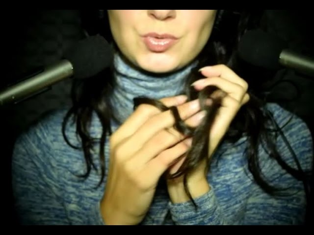 Gibberish Inaudible Ear To Ear Whispers With Tingly Hand Movements Asmr