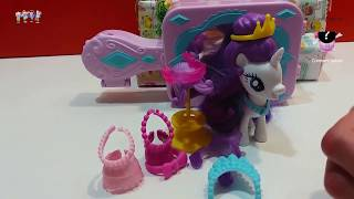 My Little Pony Cutie Mark Magic Rarity Booktique MLP House Playset Toy Unboxing