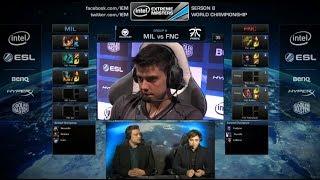 Millenium vs Fnatic | IËM Katowice WC LOL 2014 Group A Round 2 | MIL vs FNC