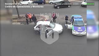 Castelar: Lo detienen con drogas en un auto con pedido de secuestro