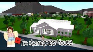 ROBLOX │Bloxburg - [SpeedBuild] No Gamepass House #4