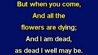 Danny Boy, Karaoke Video with lyrics, Instrumental version