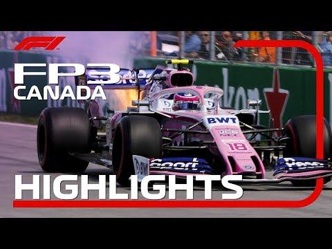 2019 Canadian Grand Prix: FP3 Highlights