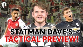 HOW TO BEAT ARSENAL? Statman Dave's Tactical Manchester United Preview