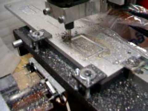 fresatura su alluminio cnc autocostruita youtube