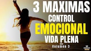 3 MAXIMAS CONTROL EMOCIONAL Y AUTOCONCIENCIA (Enfoque la Paradoja del Chimpance y el Estado Mental)