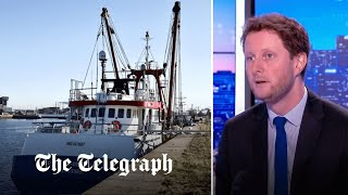 video: The British only 'understand the language of force', says French minister in fishing row