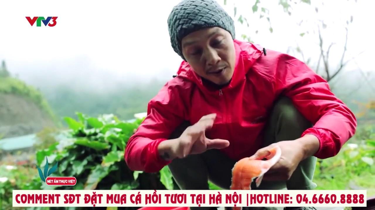 Cá Hồi Sa Pa tại Hà Nội: Gỏi cá hồi