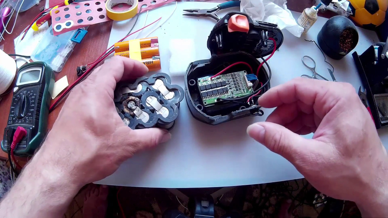 Схема контроллера литий-ионного аккумулятора