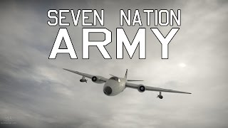 Seven Nation Army - Canberra B (I) Mk. 6  War Thunder Gameplay