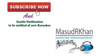 Ami Tomaro Shonge Bendhechhi Amaro Pran | Karaoke | Ravindra Sangeet