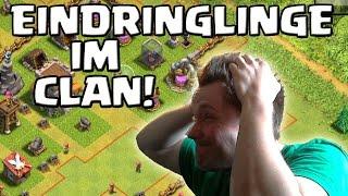 EINDRINGLINGE IM CLAN! || CLASH OF CLANS || Let's Play CoC [Deutsch/German HD+]