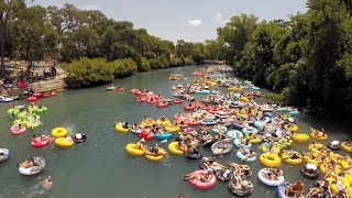 Comal Tubes in New Braunfels, Texas