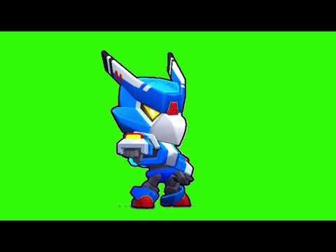 Футаж Меха Кроу Бравл Старс | Footage green screen Mecha Crow Brawl Stars