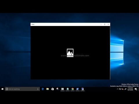 Fix windows 10 photos app not working or crashes
