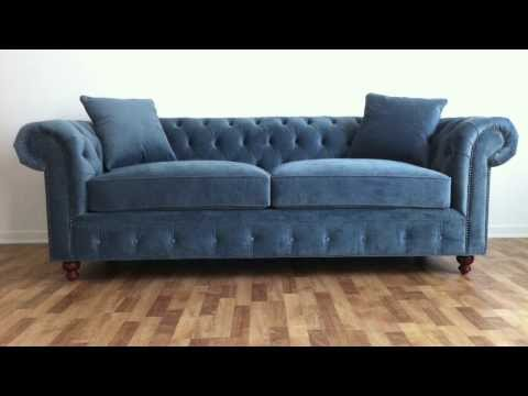 Monarch Sofas   Custom Sofa Design   YouTube