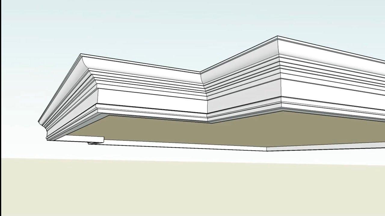 Profil Beton Lisplang 50cm Youtube Profil beton minimalis