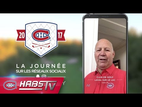 Social Story: 2017 Canadiens Golf Tournament