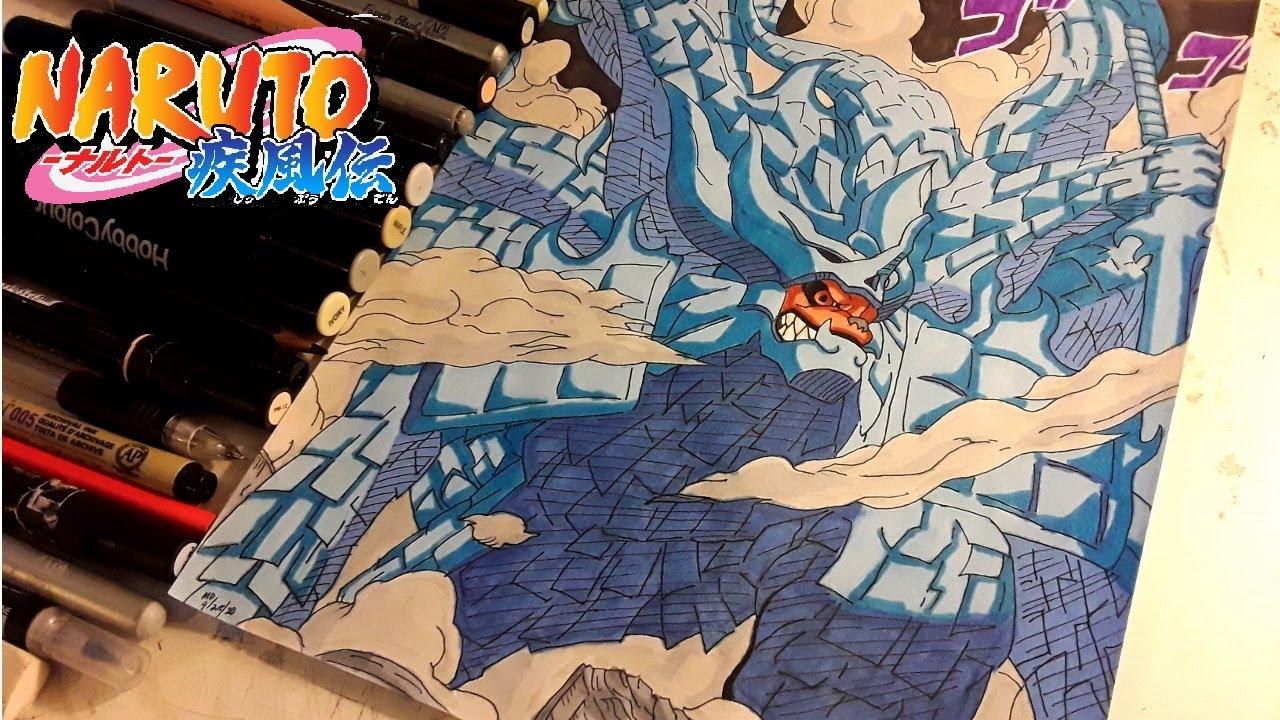 DRAWING - MADARA UCHIHA x KURAMA SUSANOO ( Naruto ...