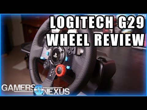Logitech G29 Driving Force Racing Wheel Review   GamersNexus