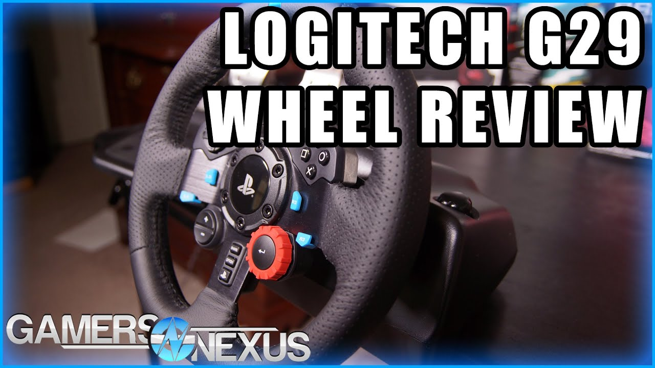 a6338e95214 Logitech G29 Driving Force Wheel Review & G27 Comparison - YouTube