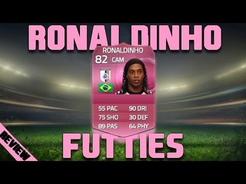 FUT 15 - Review - Ronaldinho (FUTTIES - MOC:82)