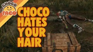 chocoTaco Does Not Like That Hair - PUBG Gameplay
