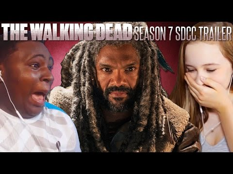 The Walking Dead: San Diego Comic-Con Season 7 Trailer Fan Reaction Compilation