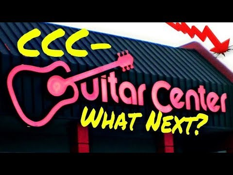 Live #43  Will Guitar Center Close In 2018?