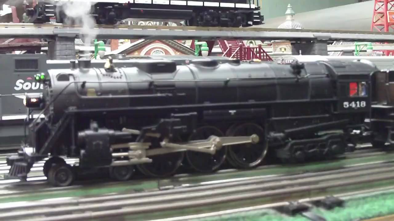 Lionel NYC Lionmaster Hudson - YouTube