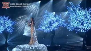 The X Factor Australia - Amanda Grafanakis - Live Show 2