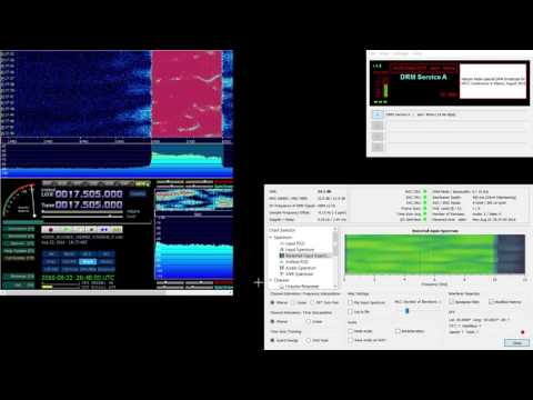 17510 kHz Vatican Radio DRM HFCC special broadcast
