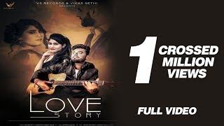 Love Story | Official Video | Shubham & Emanat Preet Kaur | New Punjabi Songs 2019| VS Records